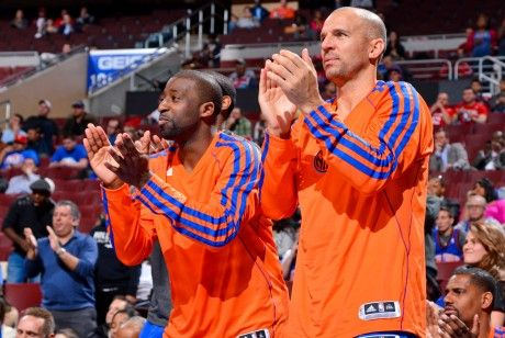 Raymond Felton y Jason Kidd./ Getty Images