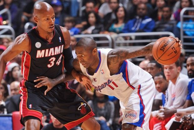 Jamal Crawford y Ray Allen./ Getty Images
