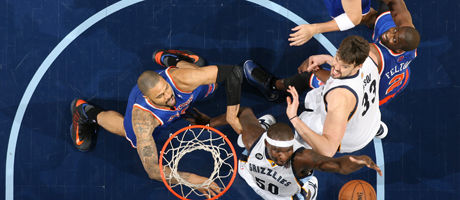 New York Knicks vs. Memphis Grizzlies./ Getty Images