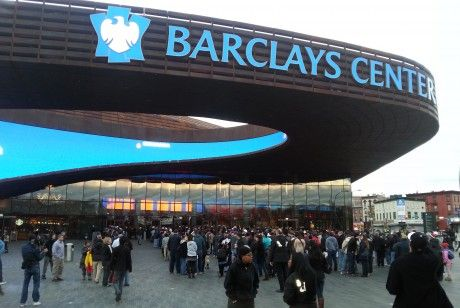 Barclay's Center./ Roberto Hernández