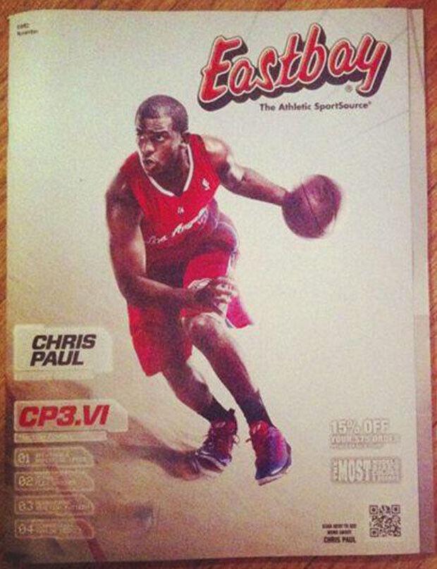 Chris Paul es portada de la revista Eastbay