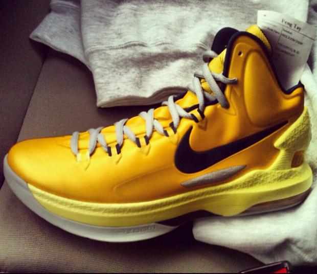 Nike - KD V 'Yellow/Black'
