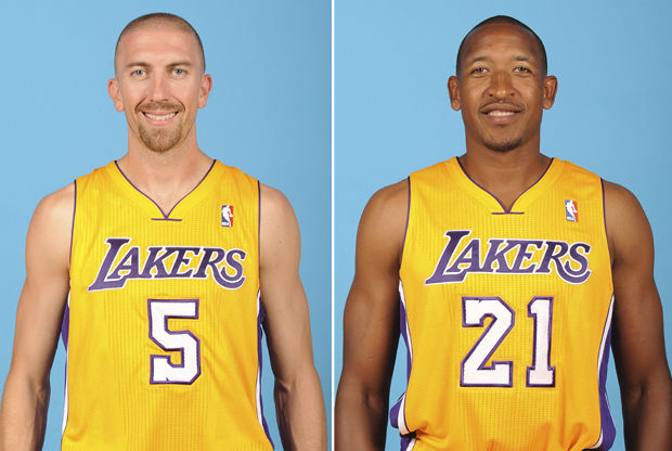 Steve Blake y Chris Duhon./ Getty Images