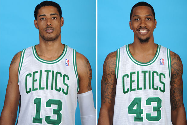 Fab Melo y Kris Joseph./ Getty Images