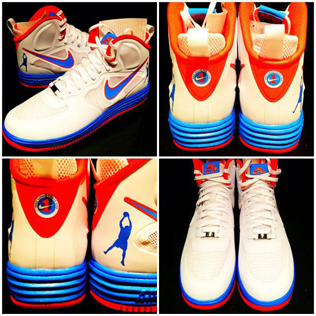 Rasheed Wallace estrena Nike - Air Force 1