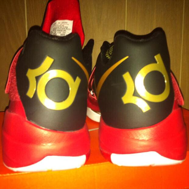 Nike - KD IV 'Red/MetGold'