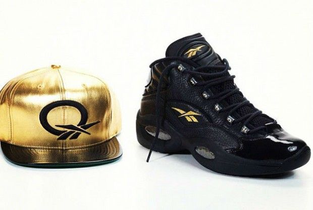 Reebok - Question Black Gold