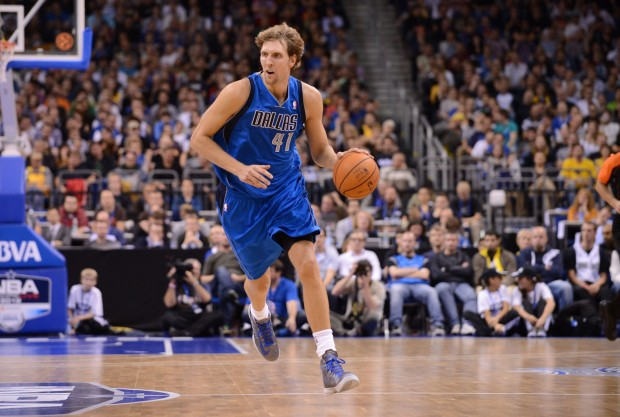 Dirk Nowitzki./ Getty Images