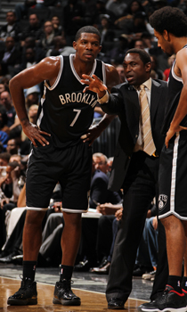 Joe Johnson y Avery Johnson./ Getty Images