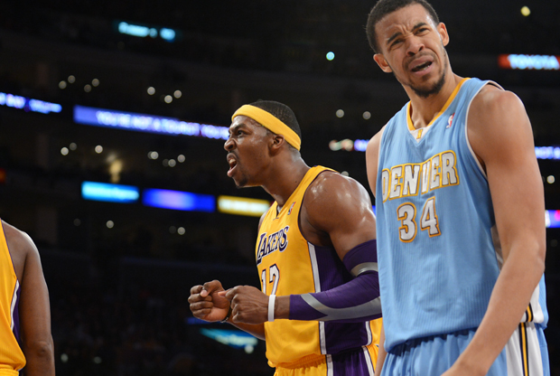 Dwight Howard y JaVale McGee./ Getty Images