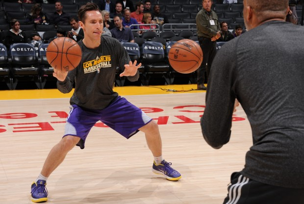 Steve Nash./ Getty Images