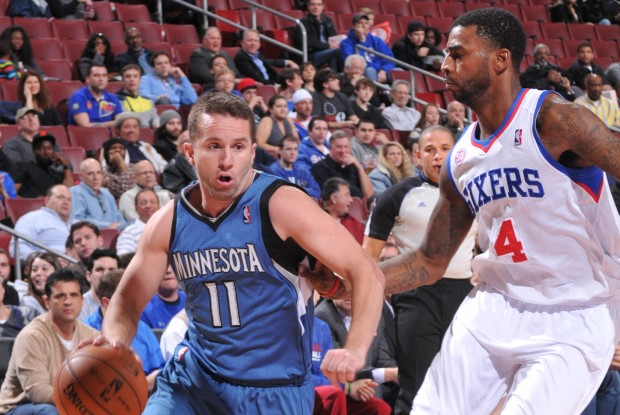 J.J. Barea y Dorell Wright./ Getty Images