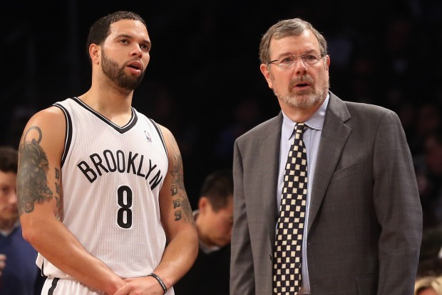 Deron Williams y PJ Carlesimo./ Getty Images