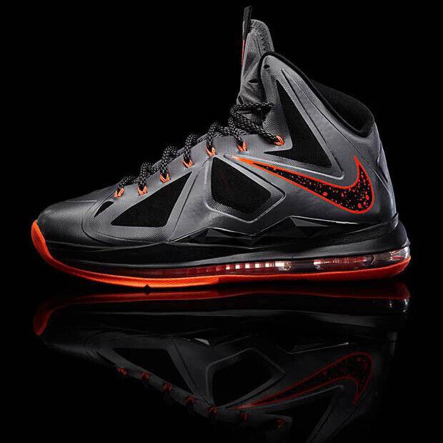 Nike - LeBron X 'Lava'