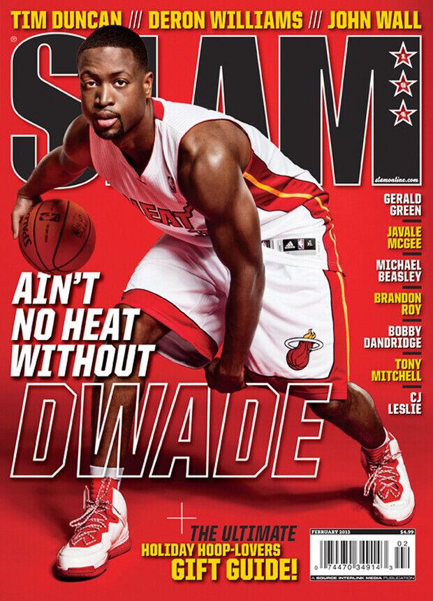 Dwyane Wade es la portada de la revista SLAM