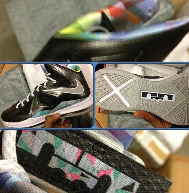 Nike - LeBron X 'Prism'