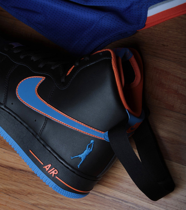 Rasheed Wallace presenta sus Nike - Air Force 1 'Away'