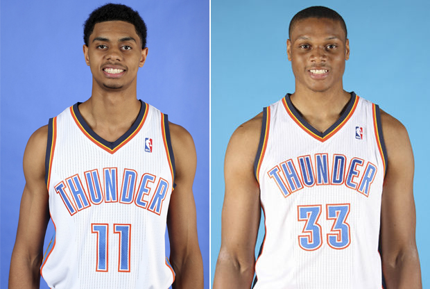 Jeremy Lamb y Daniel Orton./ Getty Images
