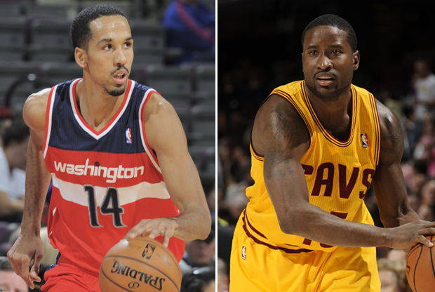 Shaun Livingston y Donald Sloan./ Getty Images