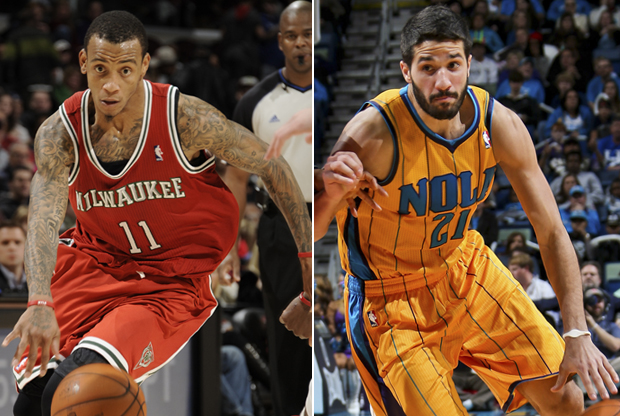 Monta Ellis y Greivis Vásquez./ Getty Images