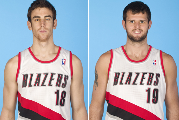 Víctor Claver y Joel Freeland./ Getty Images