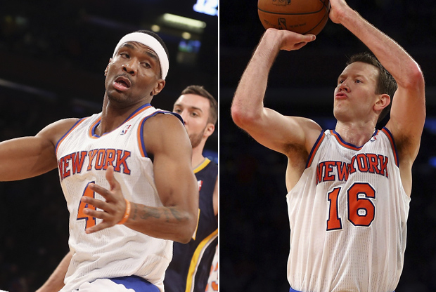 James White y Steve Novak./ Getty Images