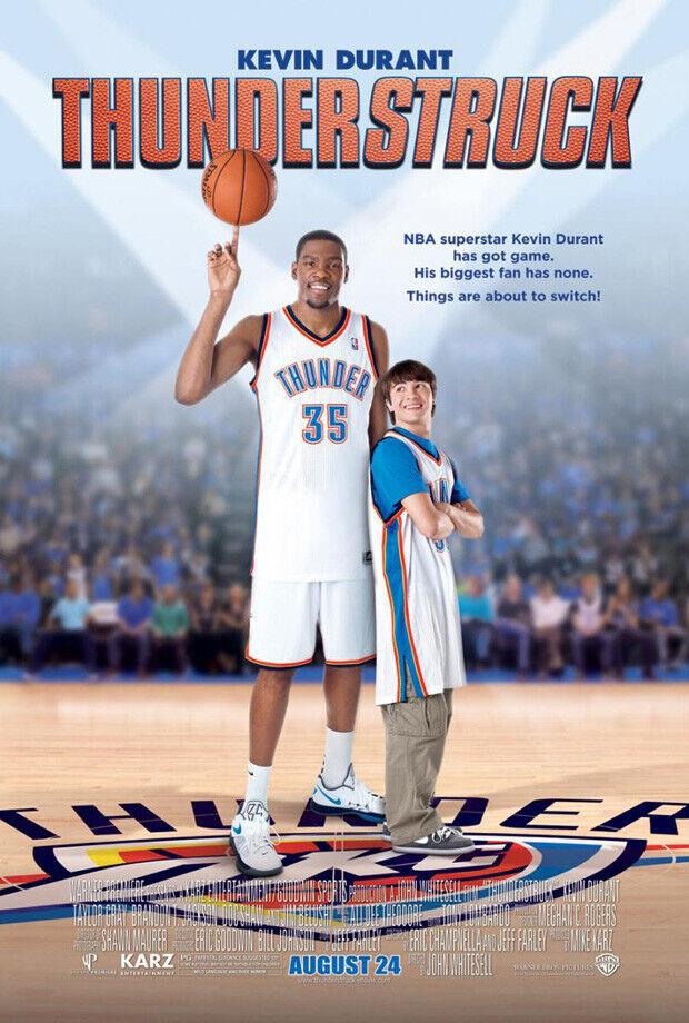 'Thunderstruck', la película de Kevin Durant a la venta