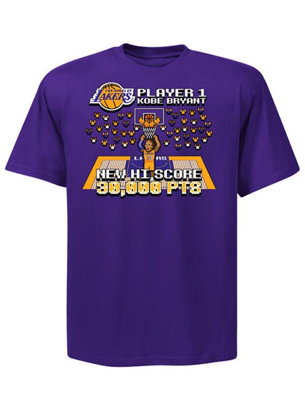 La camiseta de los 30.000 puntos de Kobe, versión '8-bits'