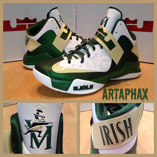 Nike – Zoom LeBron Soldier 6 'St. Vincent-St. Mary Fighting Irish'