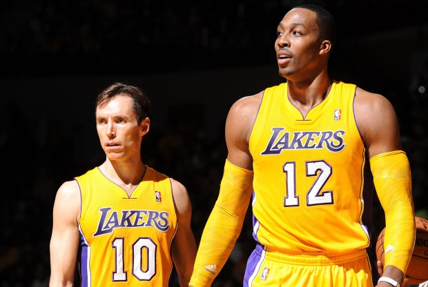Steve Nash y Dwight Howard./ Getty Images