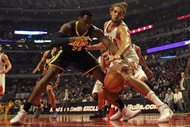 Indiana Pacers vs. Chicago Bulls./ Getty Images