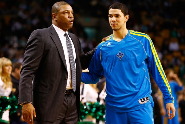 Doc Rivers y Austin Rivers./ Getty Images