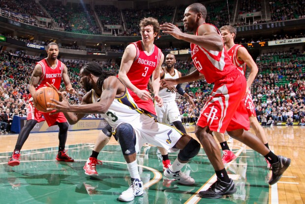 Houston Rockets vs. Utah Jazz./ Getty Images