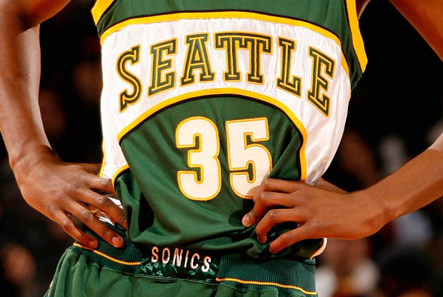 Seattle SuperSonics./ Getty Images