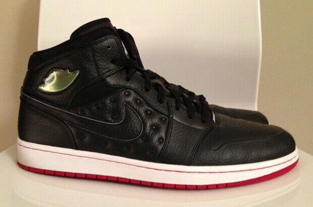 Air Jordan – I Retro '97 'Black/White-Gym Red'