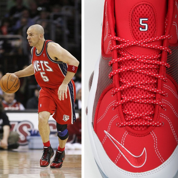 01e8e248b598 Nike – Zoom Flight 95 Jason Kidd – New Jersey Nets