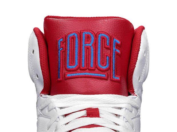 Nike – Air Force 180 'White/Hyper Red-Photo Blue'