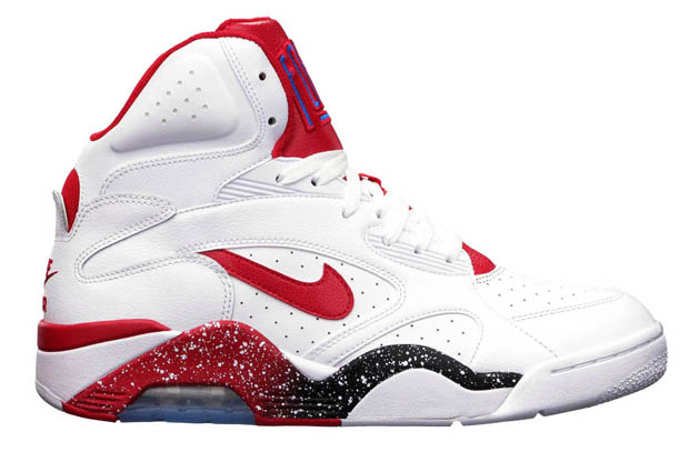 Nike – Air Force 180 'White/Hyper Red-Photo Blue'