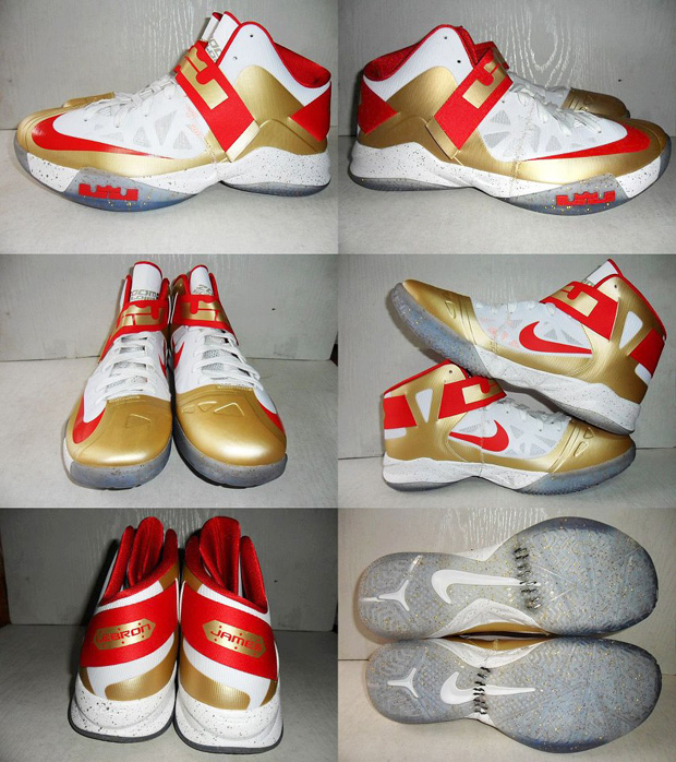Nike – Zoom LeBron Soldier 6 'Championship Gold'