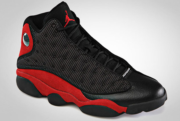 Air Jordan - Retro 13 'Black/Varsity Red'