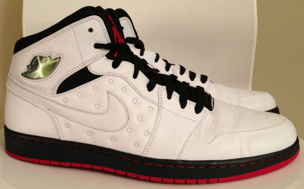 Air Jordan – I Retro '97 'White/Black-Gym Red'