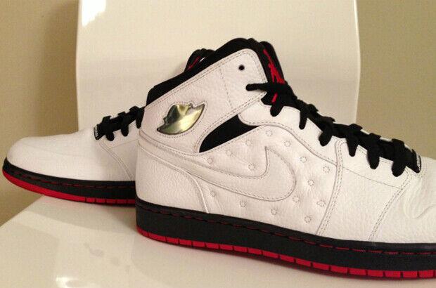 Air Jordan – I Retro '97 'White/Black-Gym Red'