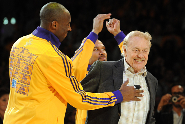 Jerry Buss./ Getty Images