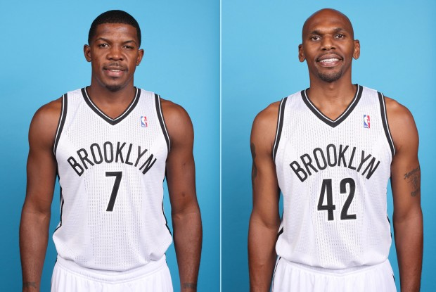 Joe Johnson y Jerry Stackhouse./ Getty Images