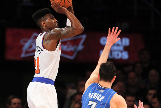 Iman Shumpert y J.J. Redick./ Getty Images