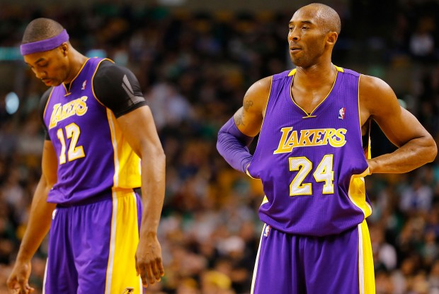 Dwight Howard y Kobe Bryant./ Getty Images