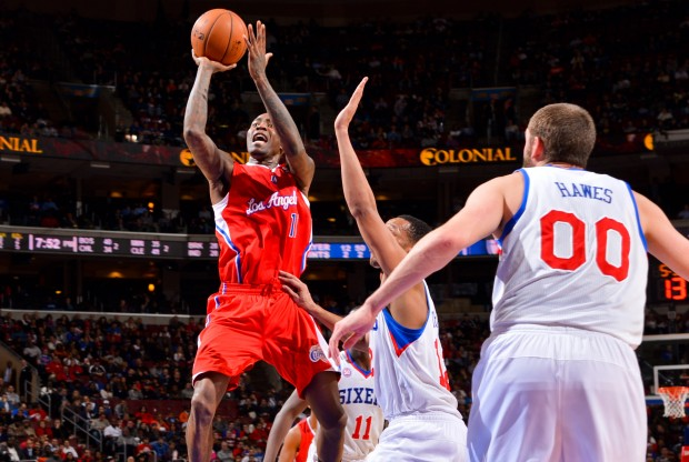 Jamal Crawford lanza a canasta./ Getty Images