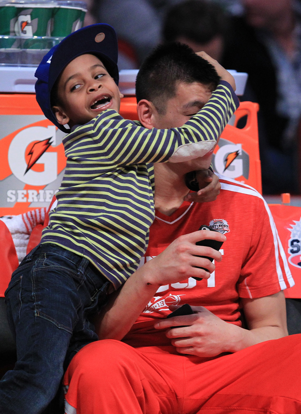 Kiyan Anthony y Jeremy Lin./ Getty Images