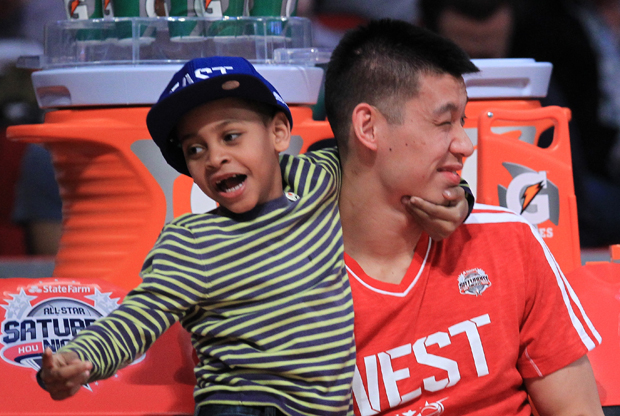 Kiyan Anthony y Jeremy Lin./ Getty Images