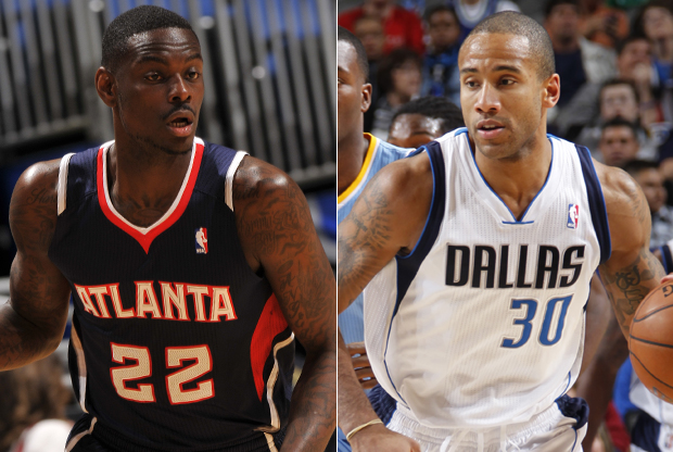 Anthony Morrow y Dahntay Jones./ Getty Images